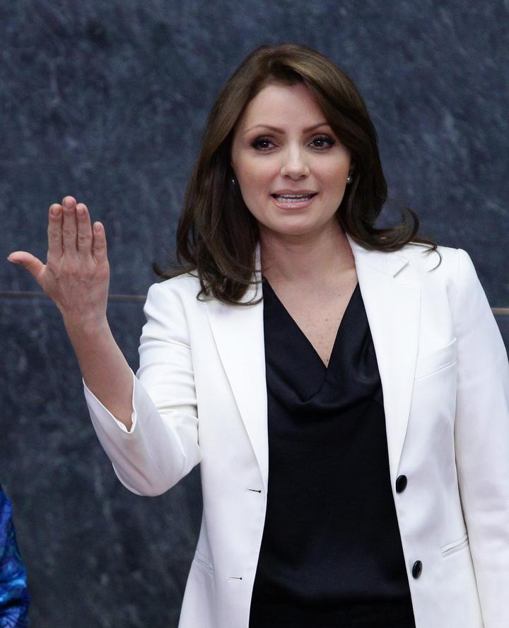 Angélica Rivera resalta el registro oportuno de los hijos