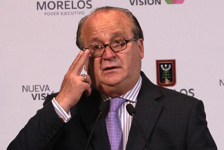 Arremete contra Graco Ramírez ex gobernador de Morelos