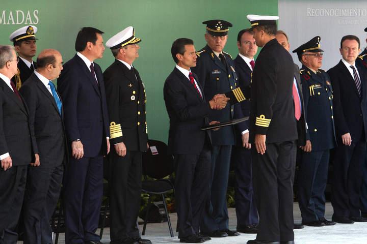 Crimen ya no es amenaza: EPN