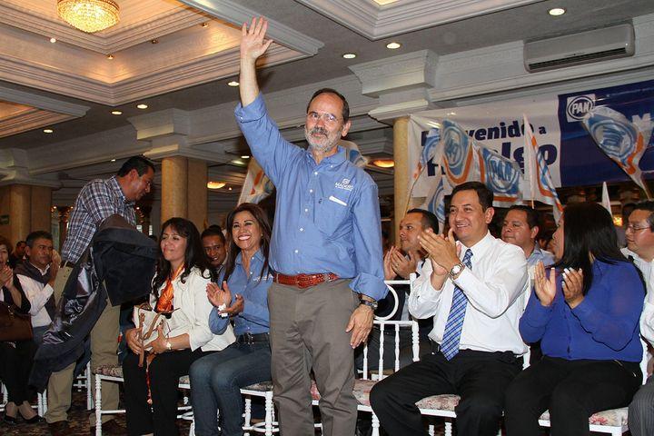 Acude Madero a la Asamblea del PAN