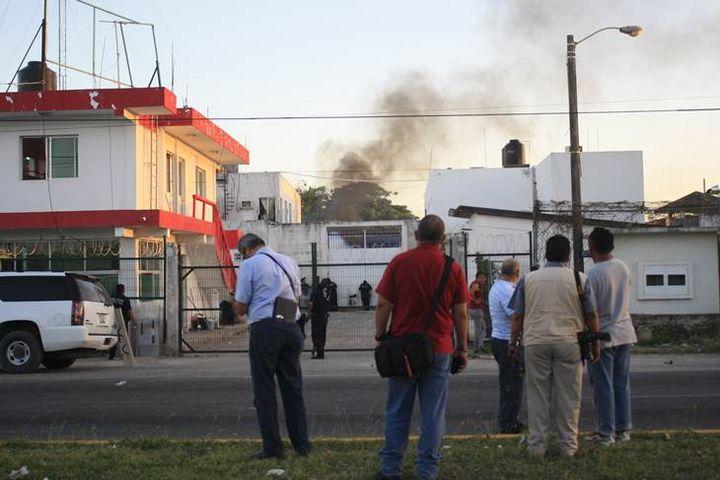 Controlan un motín en el penal de Chetumal