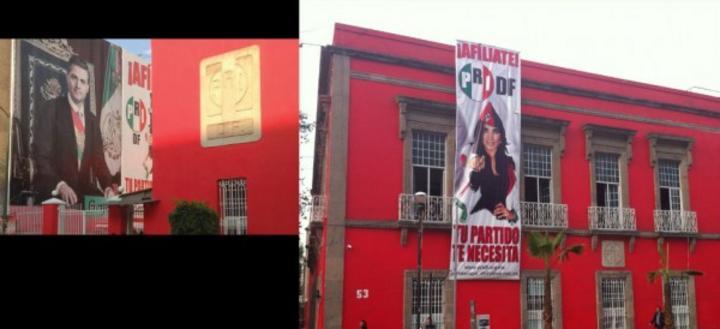 Acusan red de prostitución en PRI DF