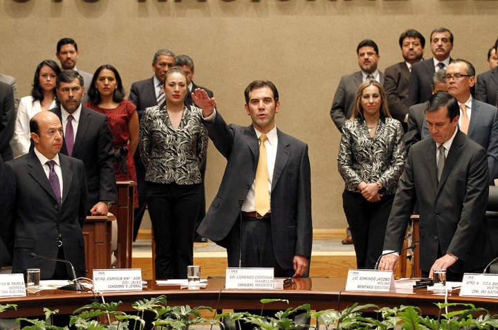 Debe INE actuar con visión de largo plazo: Lorenzo Córdova