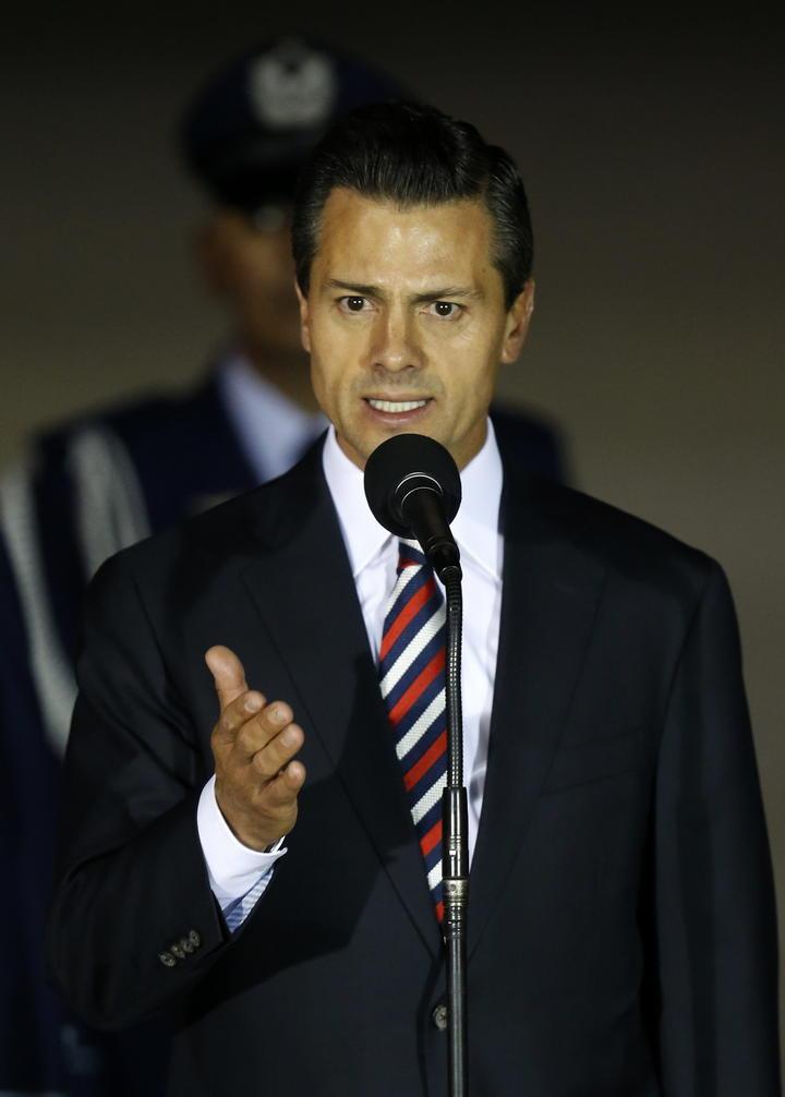 Cae 18 puntos aprobación por trabajo de Peña Nieto