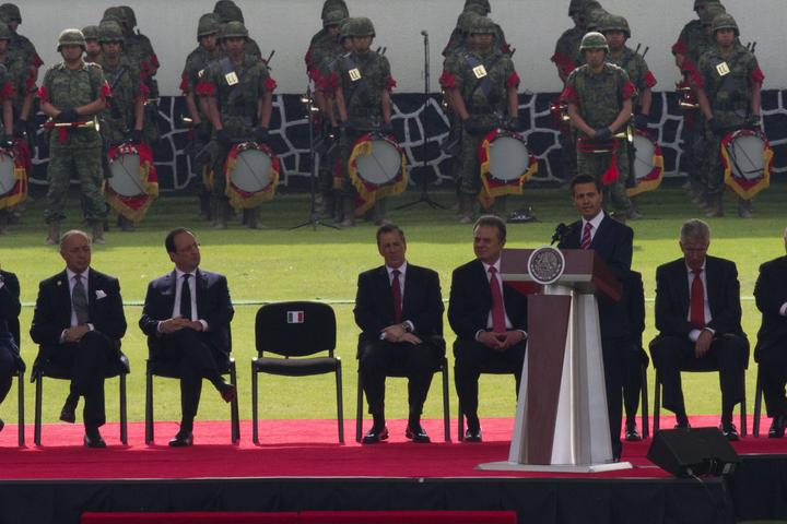 Resalta EPN reencuentro entre México y Francia