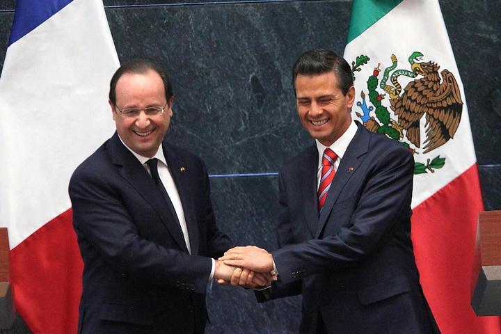 Firman México y Francia acuerdos de cooperación