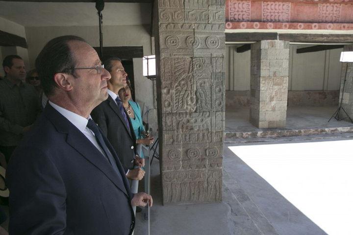 Renace relación Mexico Francia, dice Peña Nieto