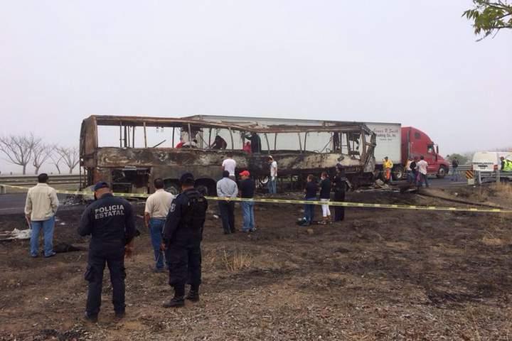 Tragedia en Veracruz; 36 muertos en accidente