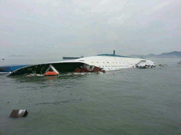 Expresa México su solidaridad a Corea del Sur por naufragio