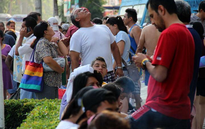 Turistas sufren crisis nerviosa