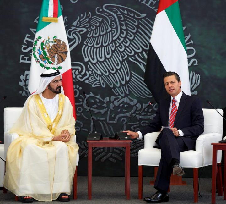 Concluye visita del primer ministro de Emiratos Árabes Unidos