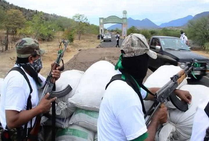 Asume PF y Ejército el control en Huetamo