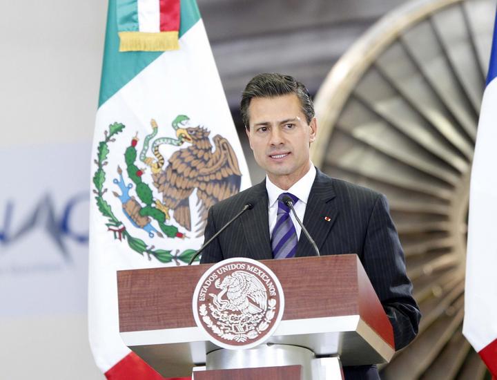 Peña Nieto felicita a Congreso por Ley de Competencia