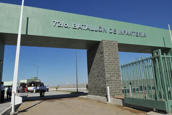 Realizan apertura del Cuartel Militar