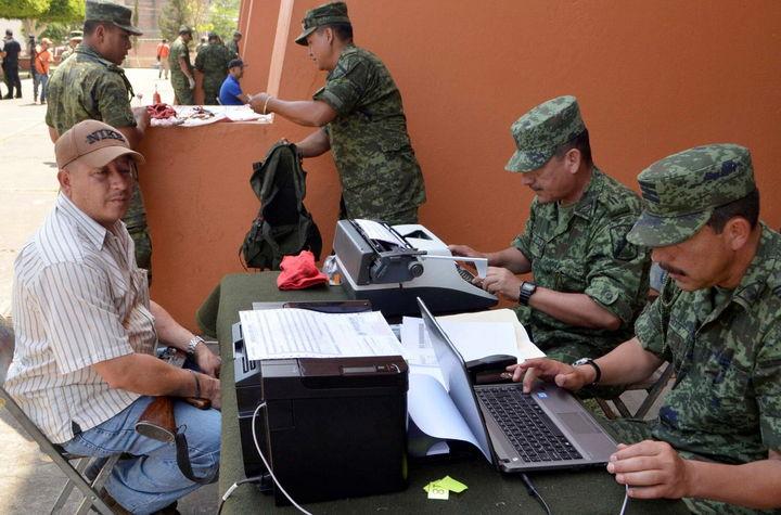 Registran 1,622 armas  por plan de desarme