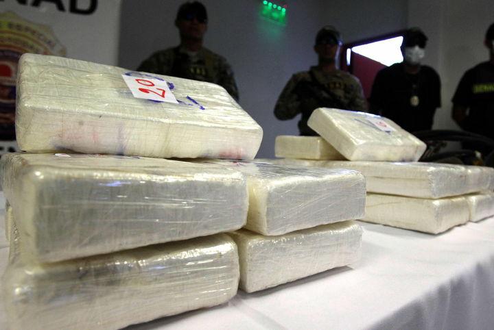 Aseguran 24 kilos de narcóticos