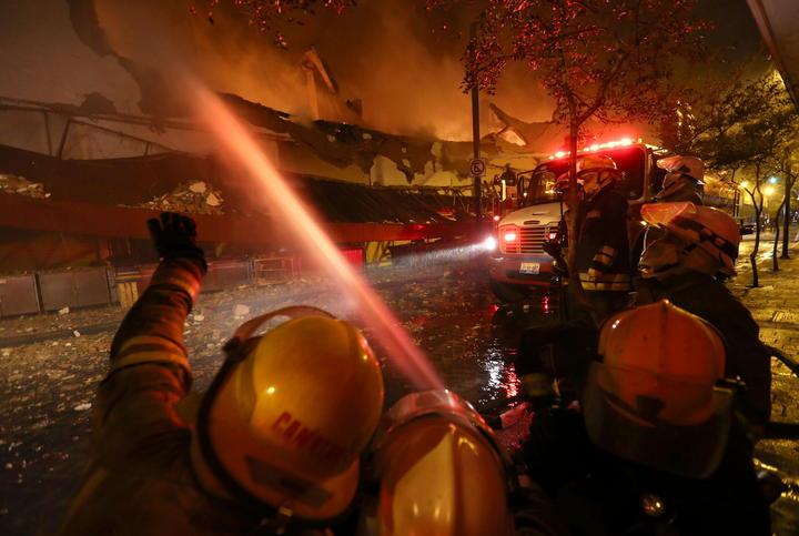 Piden indagar causas de incendio en mercado de Guadalajara