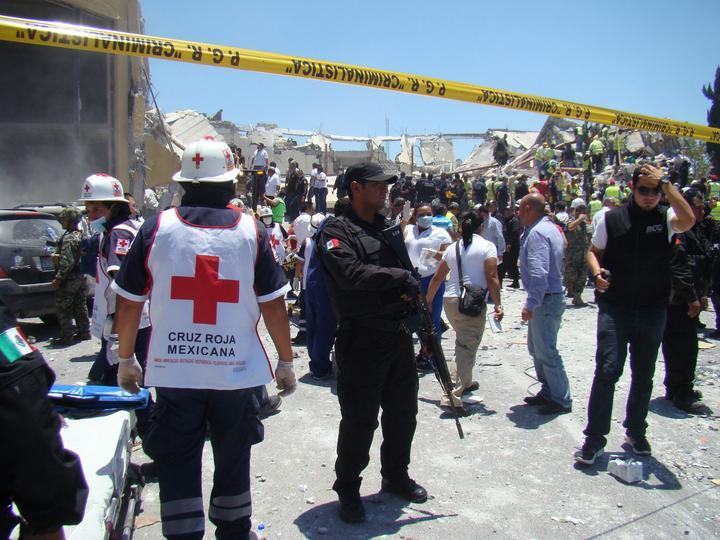 Dan de alta a siete de 15 lesionados tras explosión en Reynosa