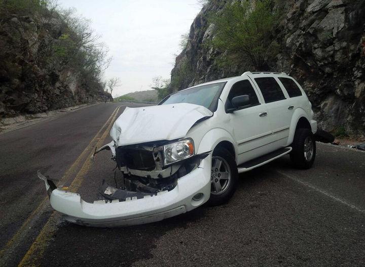 Sufre accidente Carlos Navarrete