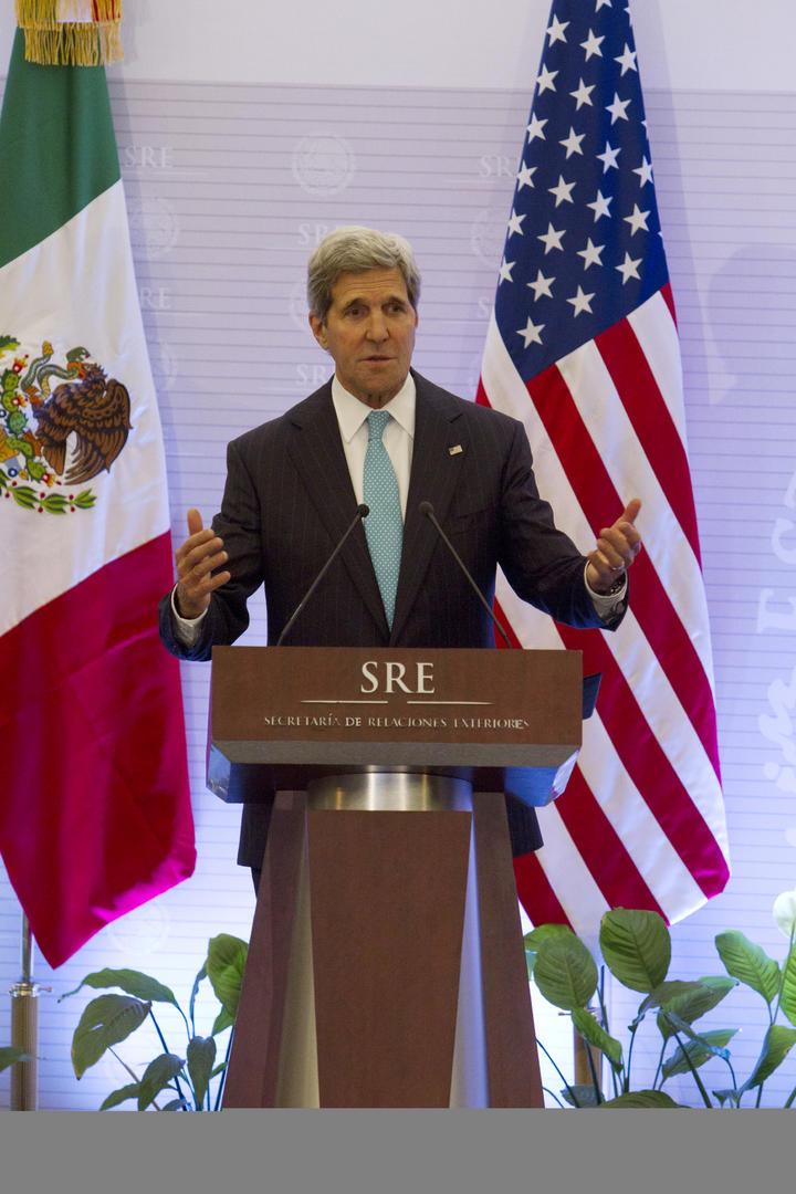Preocupa a EU situación en Venezuela: John Kerry