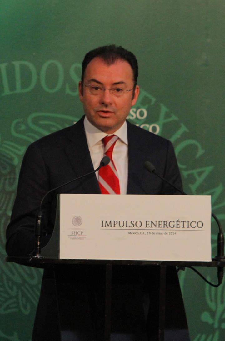 Promete Videgaray crecimiento anual del 5% hasta 2016