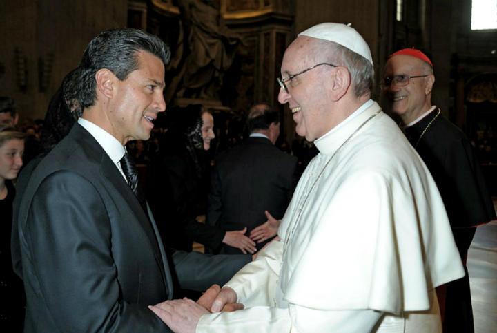 Invitará EPN a Papa Francisco visitar México