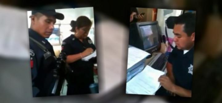 Indagan supuesta afiliación de policías de Edomex al PRI