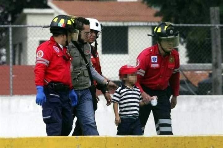 Trasladan a Owen en helicóptero a DIF de Toluca