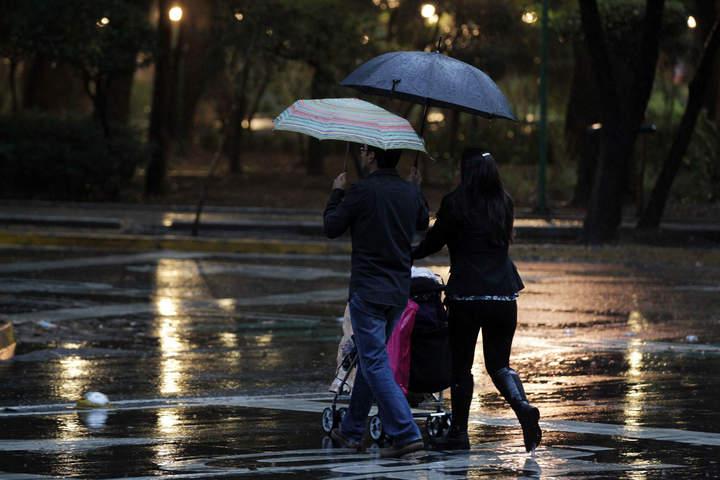 Pronostican lluvias en distintas zonas del país
