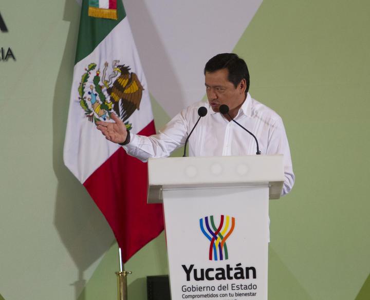 Destaca Osorio a Yucatán como un referente por su seguridad