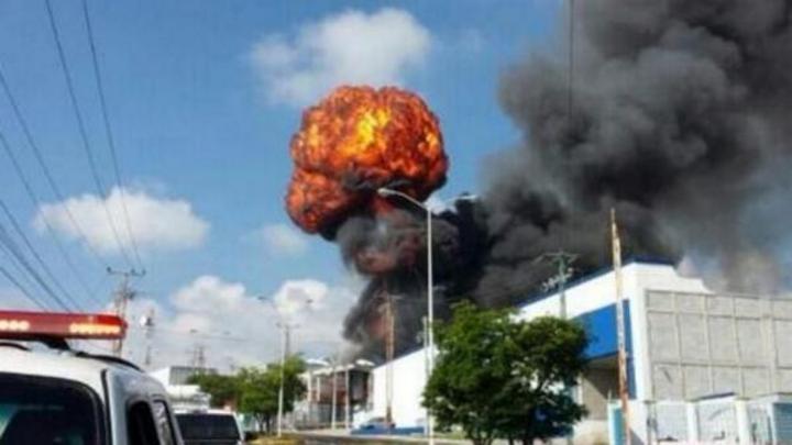 Explosión en empresa deja 5 heridos en Querétaro