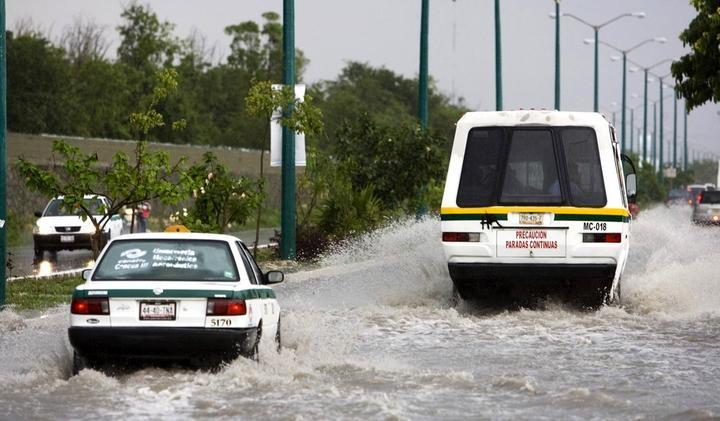 Advierten lluvias
