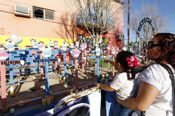 Realizan vigilia en guardería ABC a 5 años de la tragedia