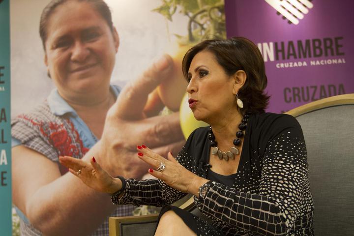 Reconoce Rosario Robles alto índice de pobreza en ciudades