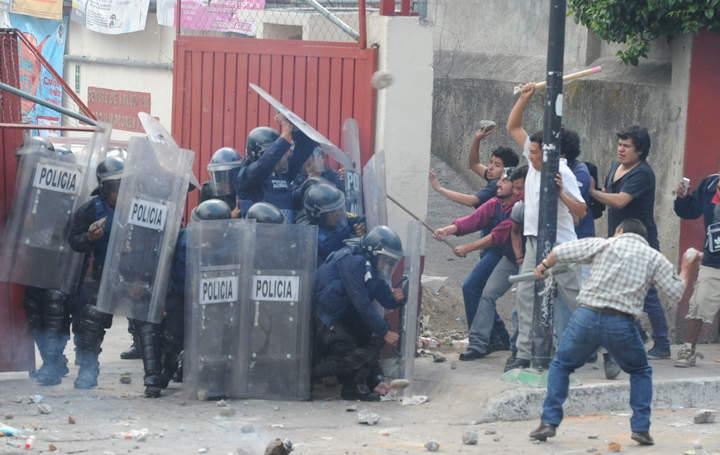 Dan alta médica a policía herido tras enfrentamiento en Ameyalco