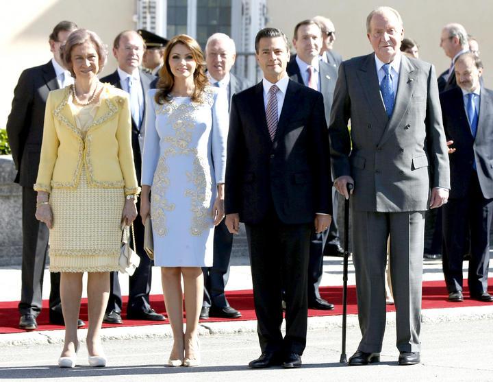 Reyes de España dan bienvenida a EPN