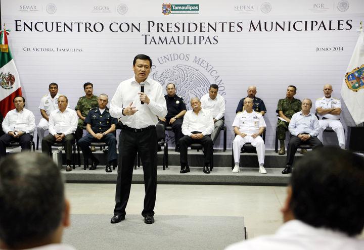 Baja violencia en Tamaulipas: Osorio