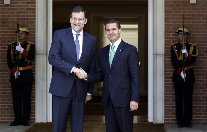 Se reúne EPN con Mariano Rajoy