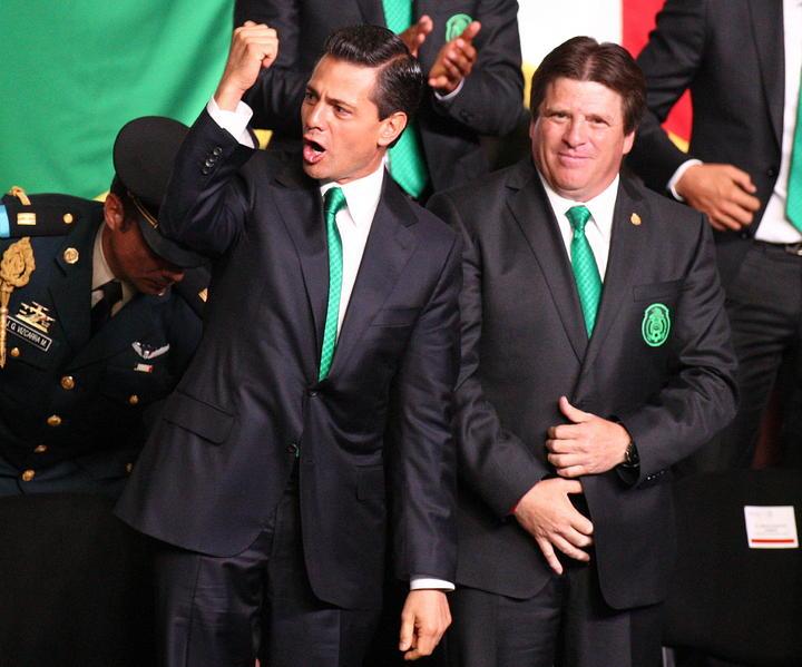 Peña Nieto pide al Tri que