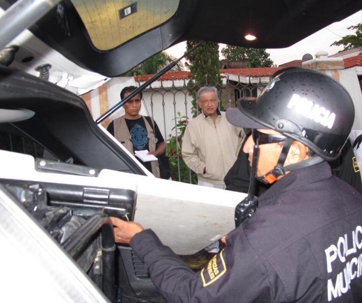 Confiscan a AMLO equipo de sonido en Yucatán