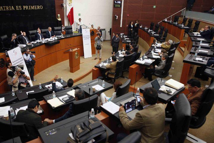 Senado: Avanza reforma sin PRD