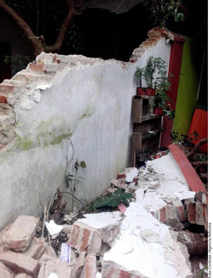 Fuertes vientos causan daños en San Cristóbal