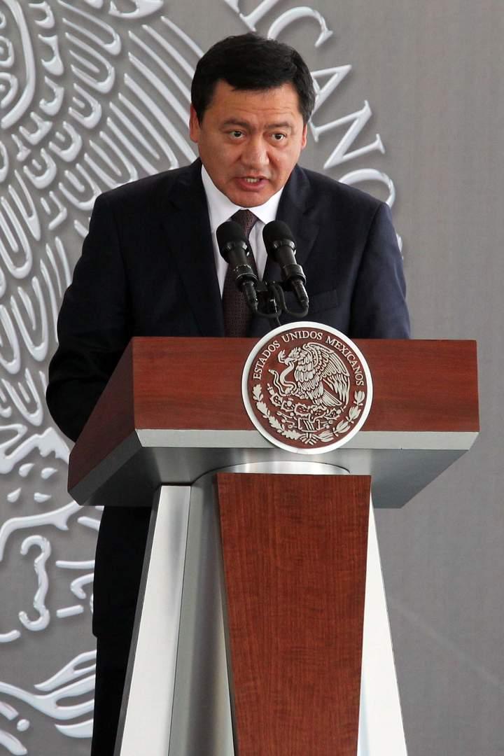 Asegura Osorio Chong que habrá cero impunidad en Michoacán