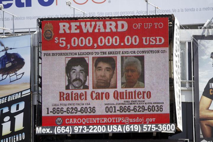 Niegan amparo a Caro Quintero