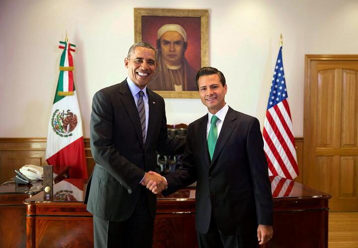 Acuerdan Peña y Obama atender tema de menores migrantes