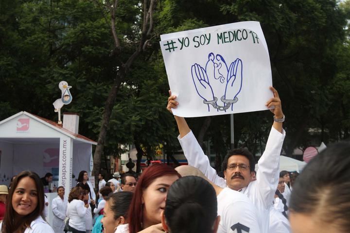 Se unen médicos de Tamaulipas a #YoSoy17