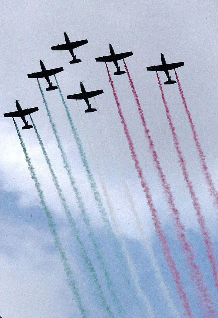 Alista desfile aéreo por Toma de Zacatecas