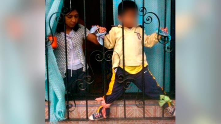 Indaga Veracruz caso de niño amarrado a ventana