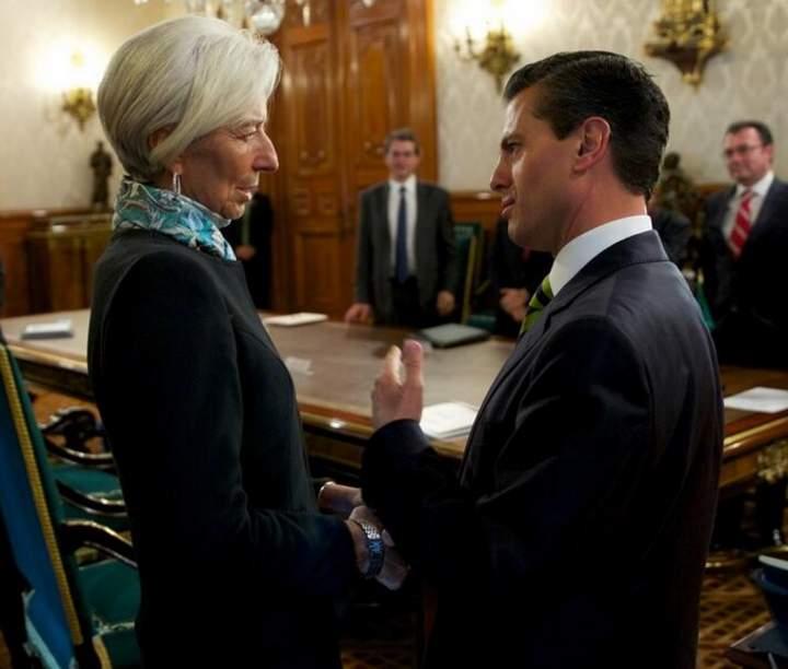 Lagarde, gratamente impresionada por reformas en México