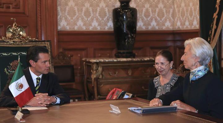 Agradece EPN a Lagarde reconocimiento a reformas